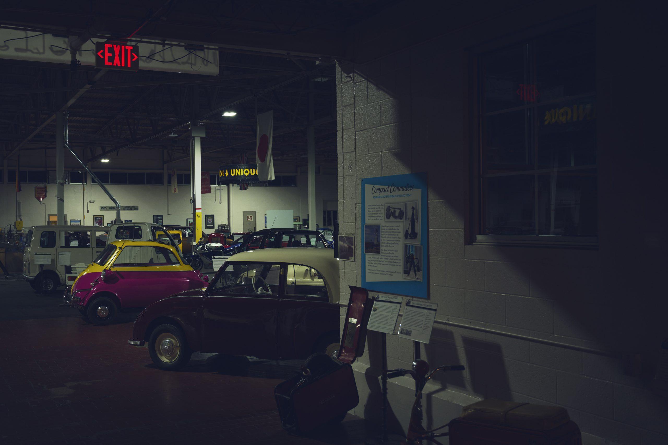 Nashville vintage car museum collection