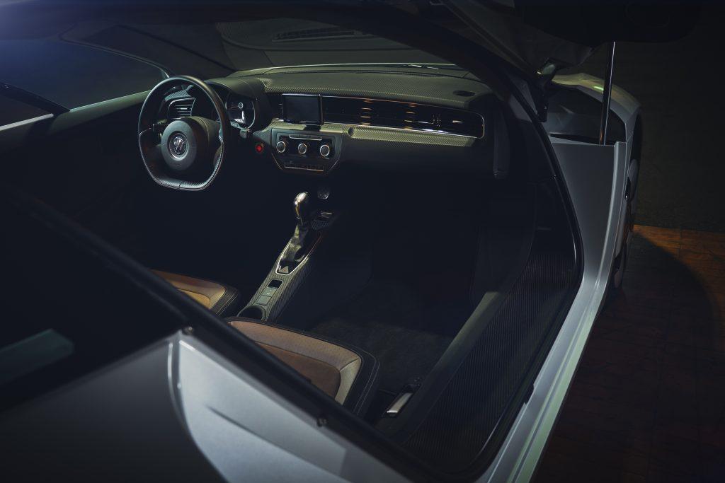 Nashville vintage car museum vw kl1 interior