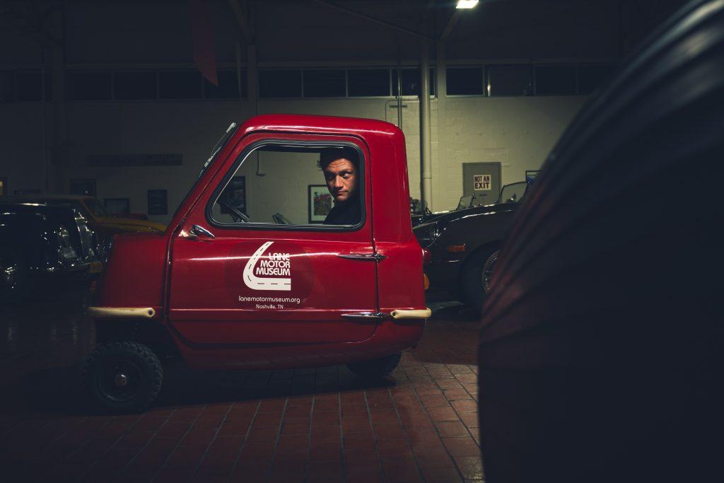Nashville vintage car museum peel replica side profile