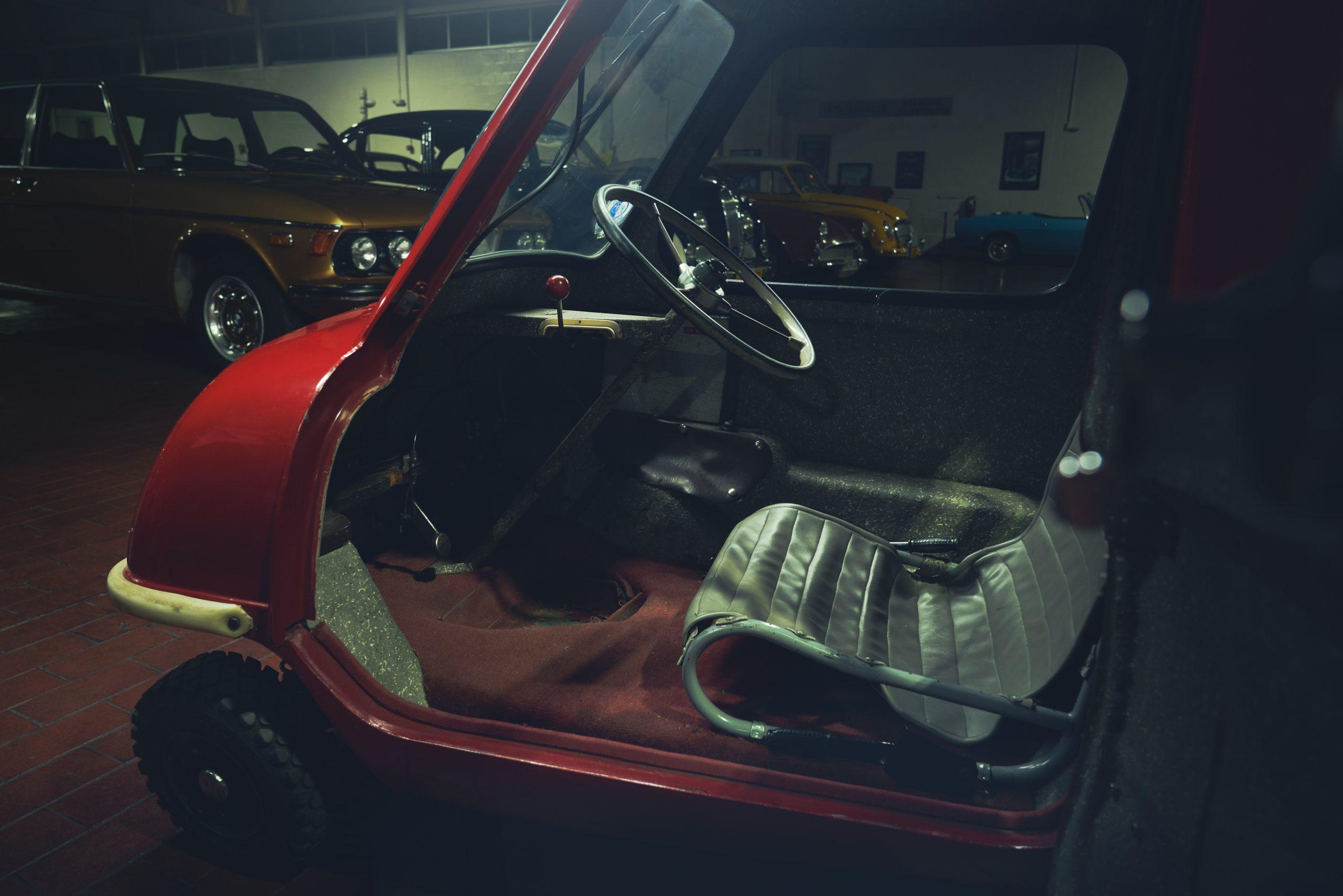 Nashville vintage car museum peel replica interior