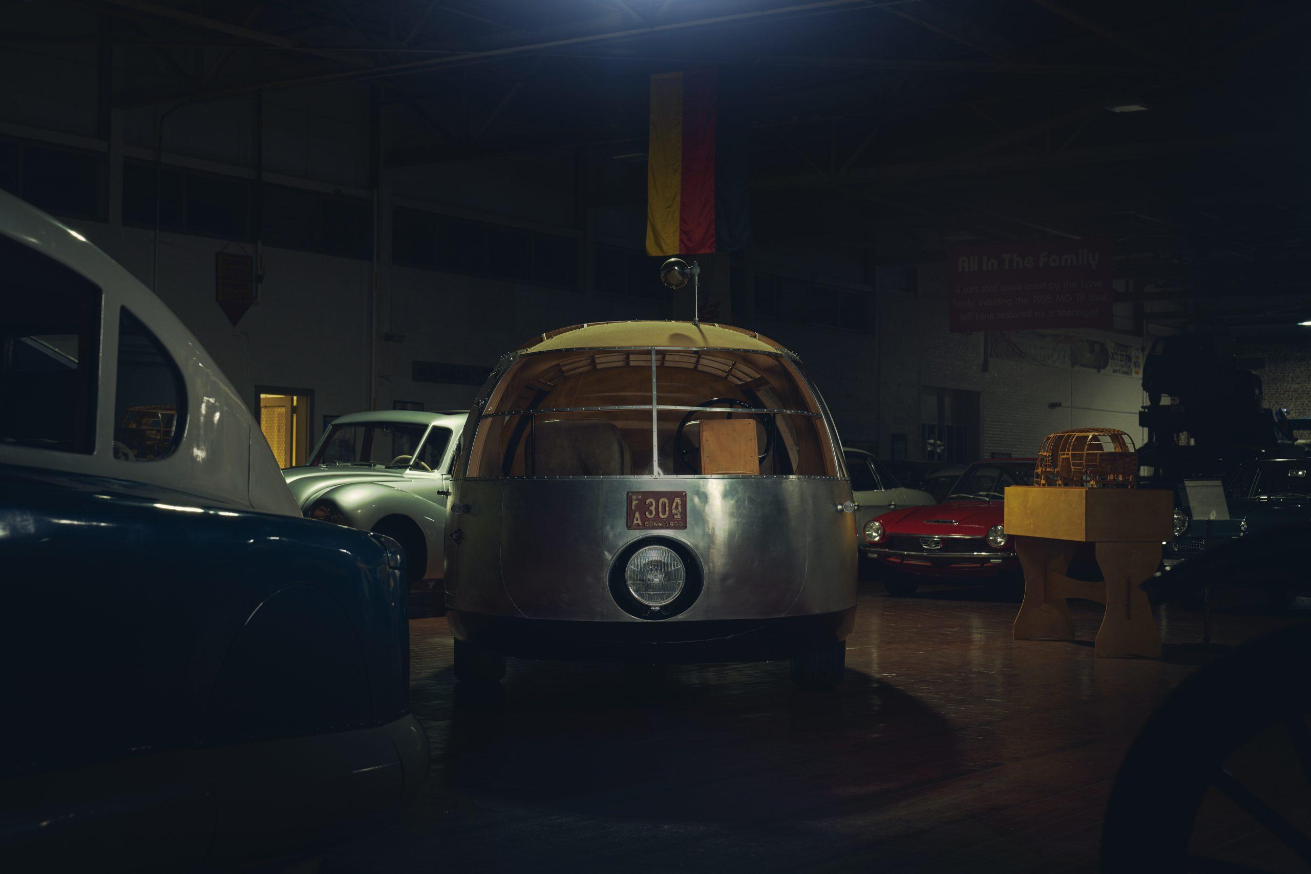 Nashville vintage car museum dymaxion front