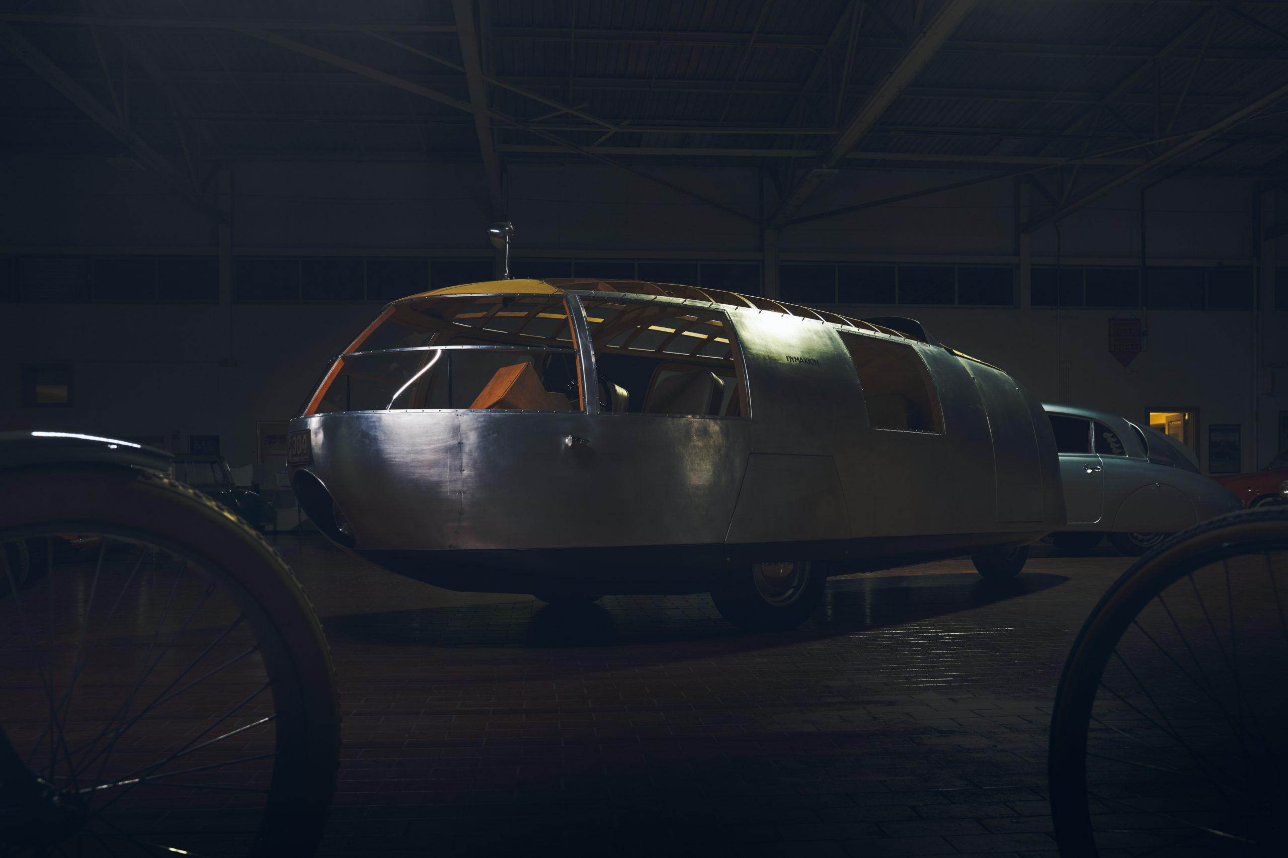Nashville vintage car museum dymaxion front three-quarter