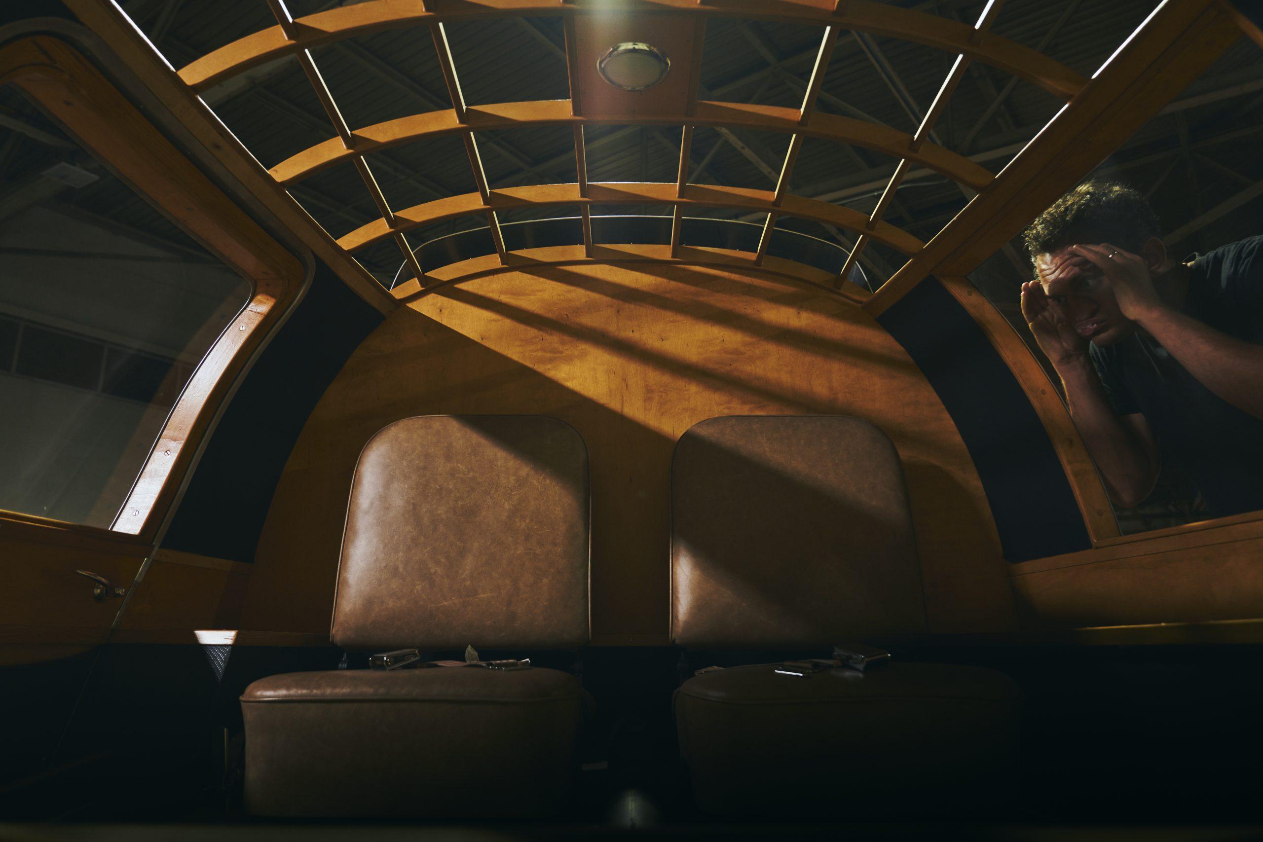Nashville vintage car museum dymaxion interior
