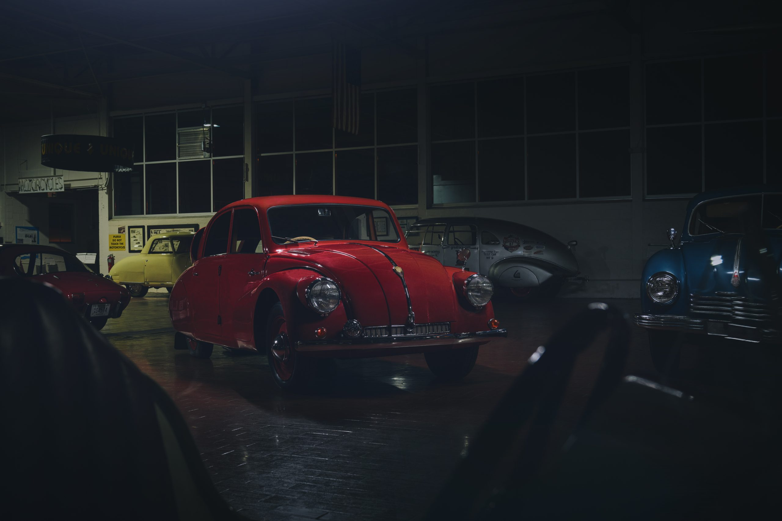 Nashville vintage car museum tatra front three-quarter