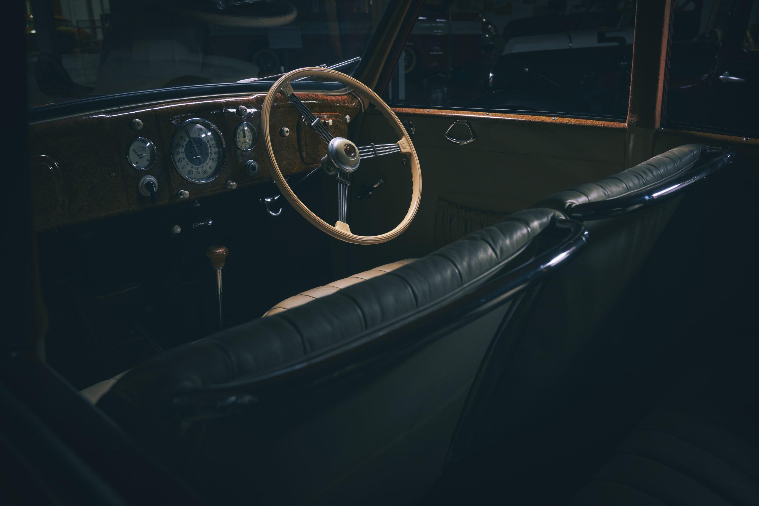 Nashville vintage car museum tatra interior