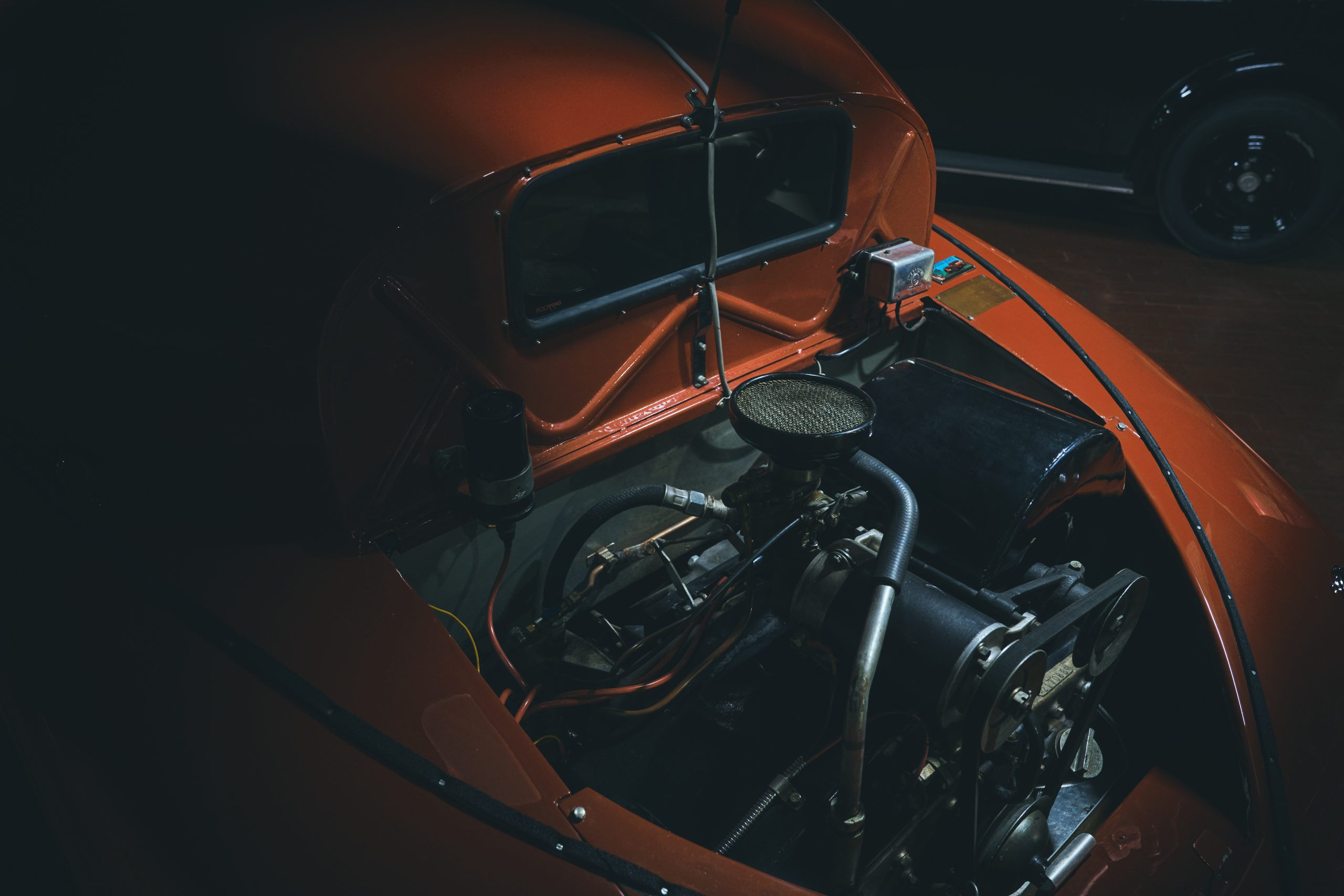Nashville vintage car museum tatra engine