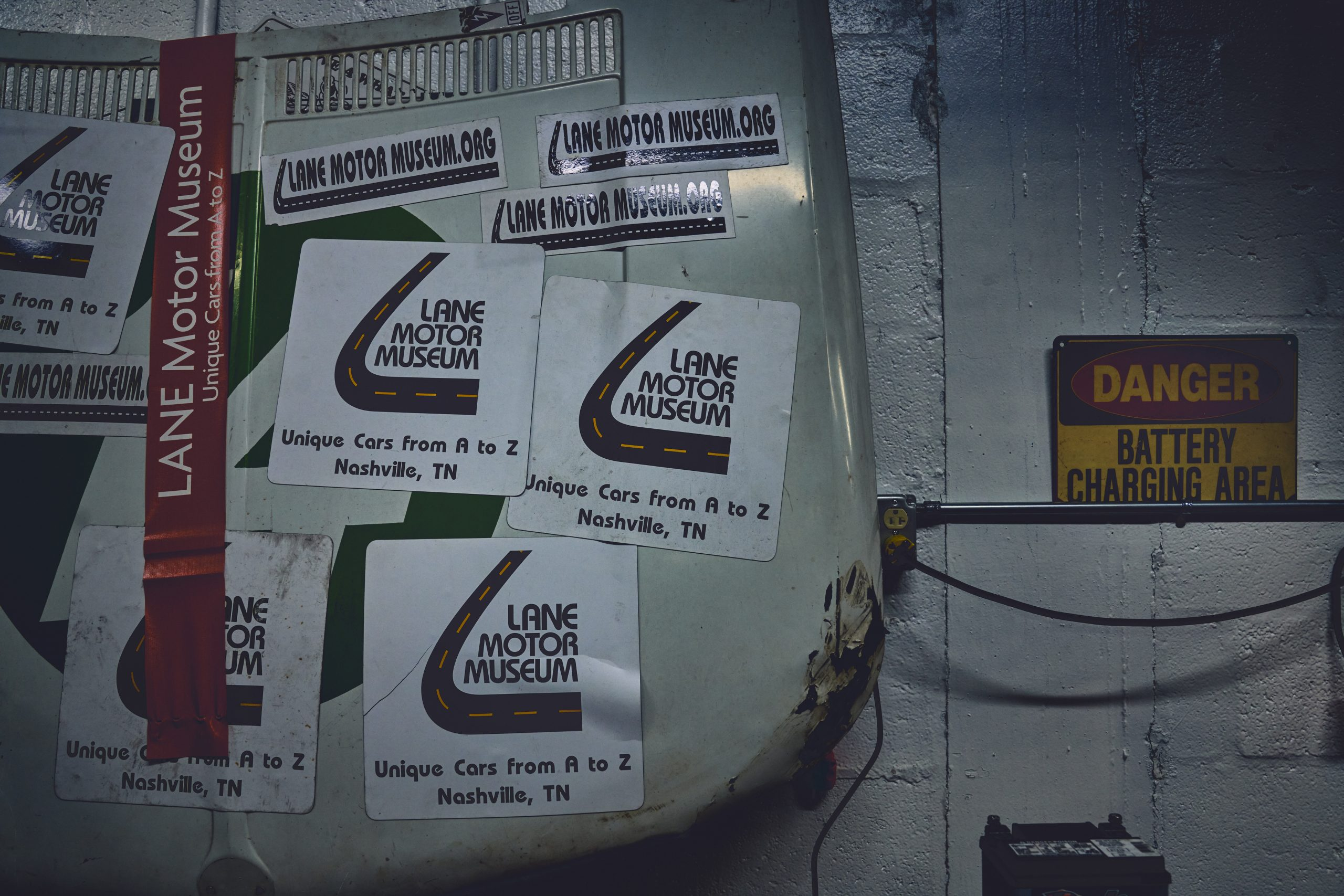 Nashville vintage car museum lane motor magnets