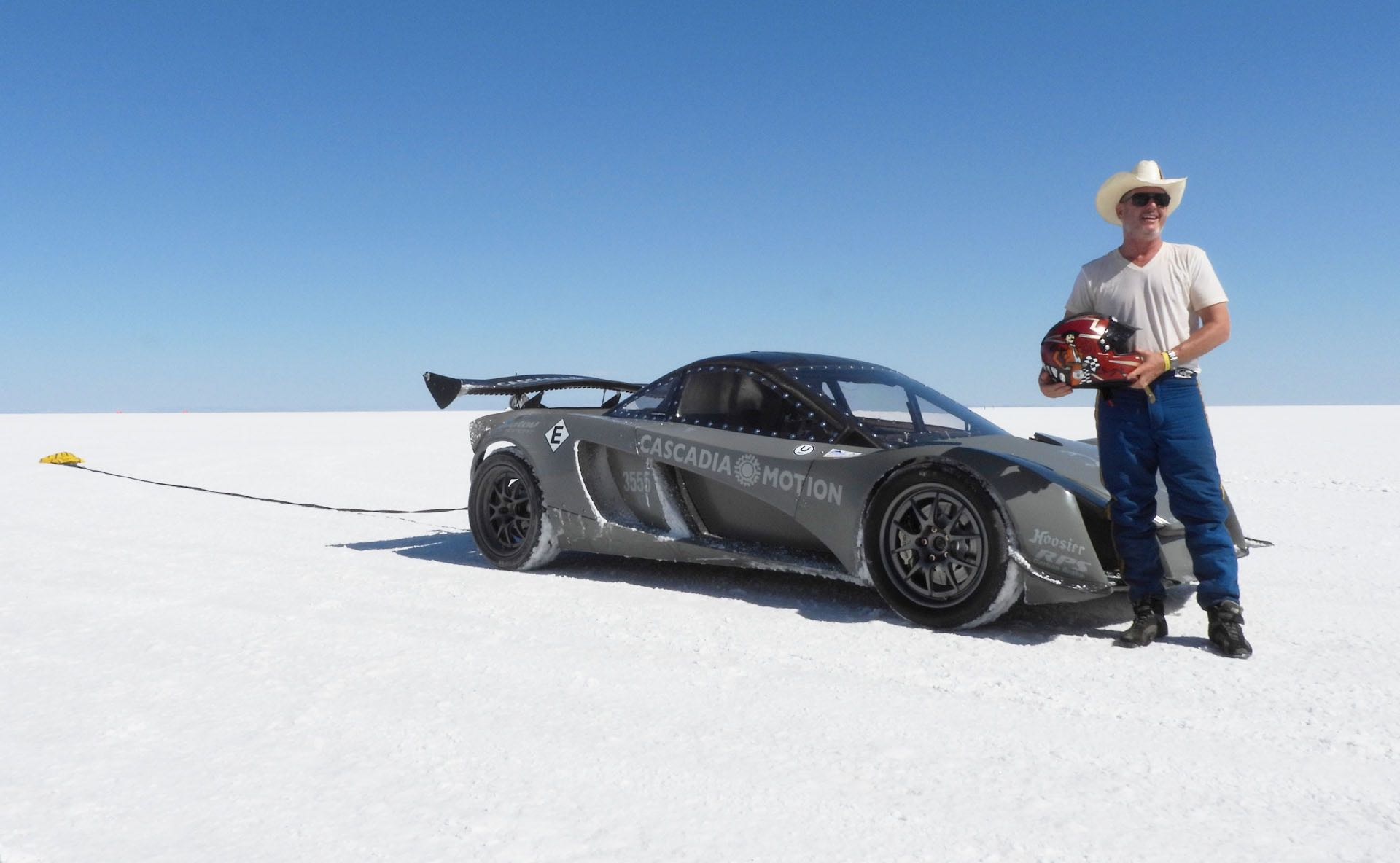 When he's not racing Pikes Peak, Dennis Palatov plans to revolutionize the battery industry