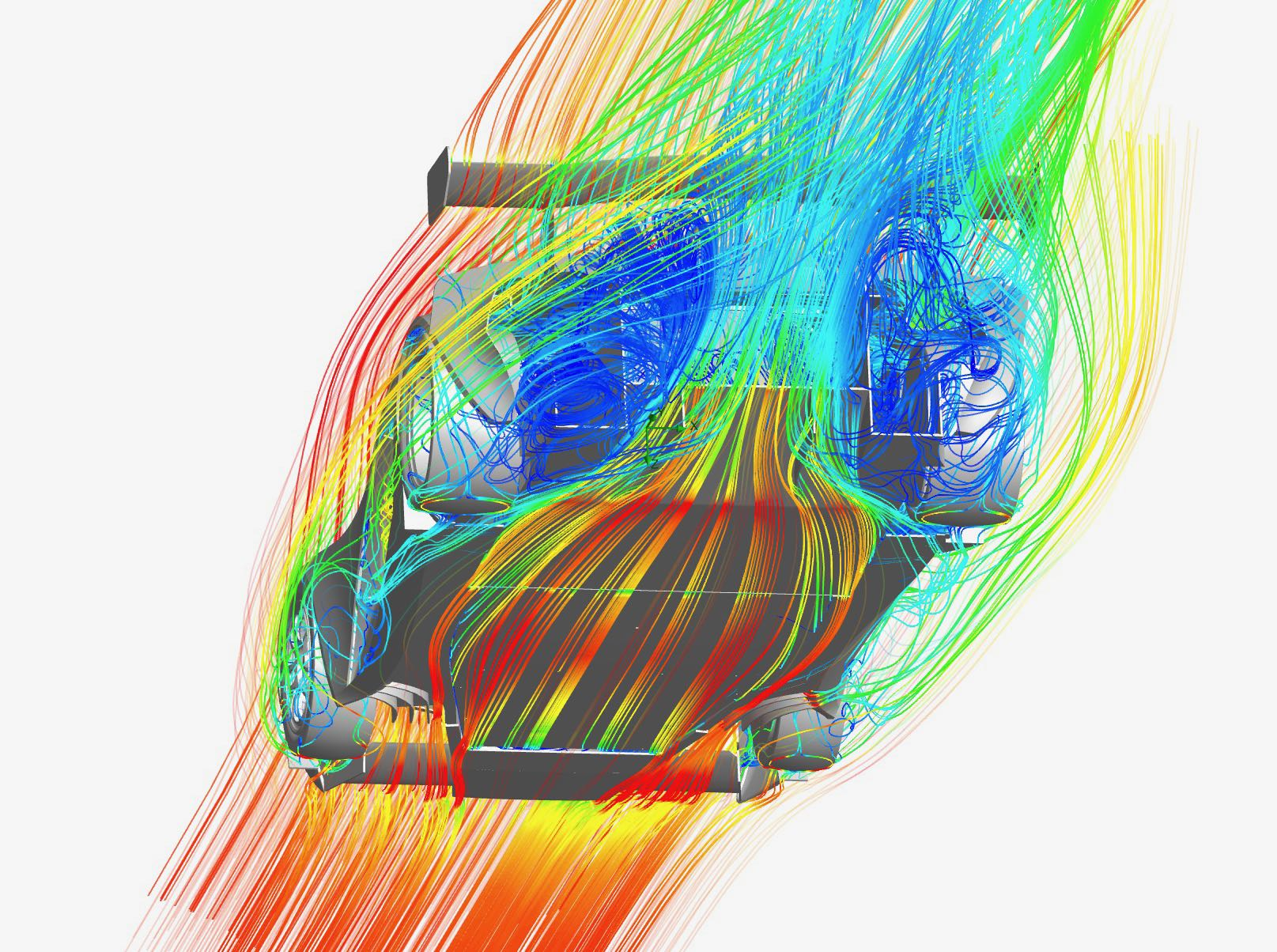 Palatov D8 aerodynamics