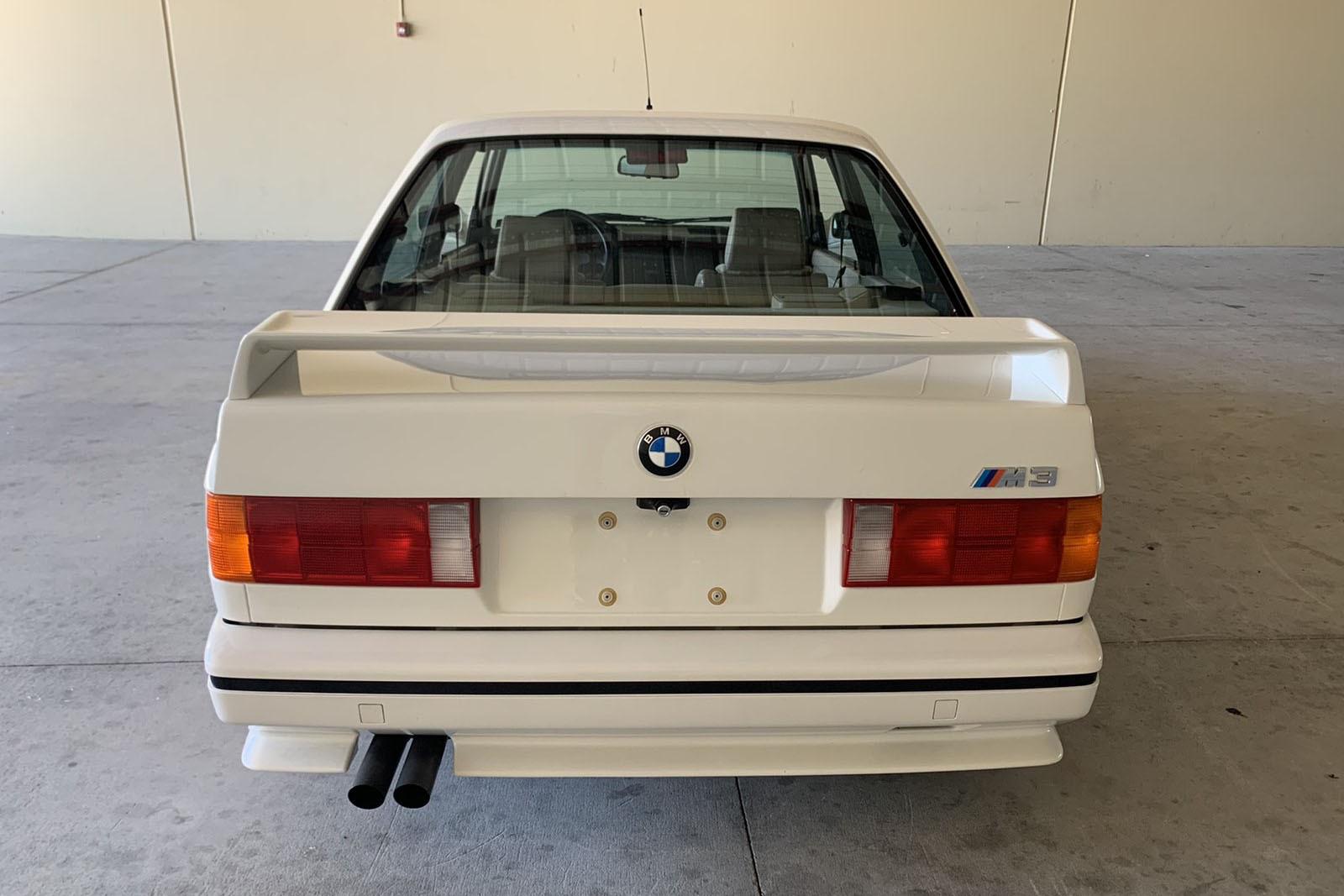 Paul Walker 1988 M3 rear