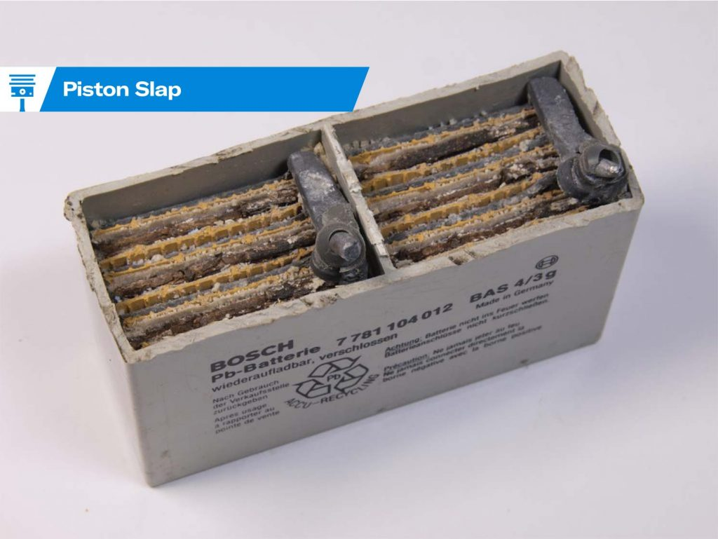 Piston Slap AGM batteries