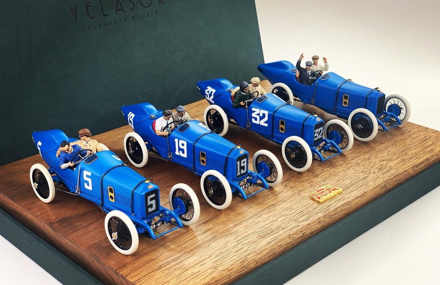 Ramon Cubiro miniatures vintage racers