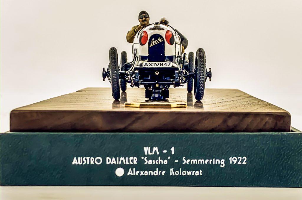 Ramon Cubiro miniatures vintage racer front
