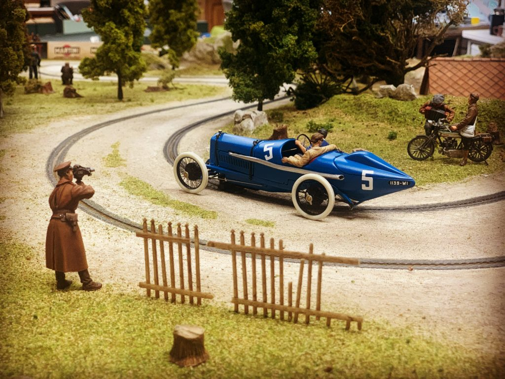 Ramon Cubiro miniatures vintage racer slot car scene