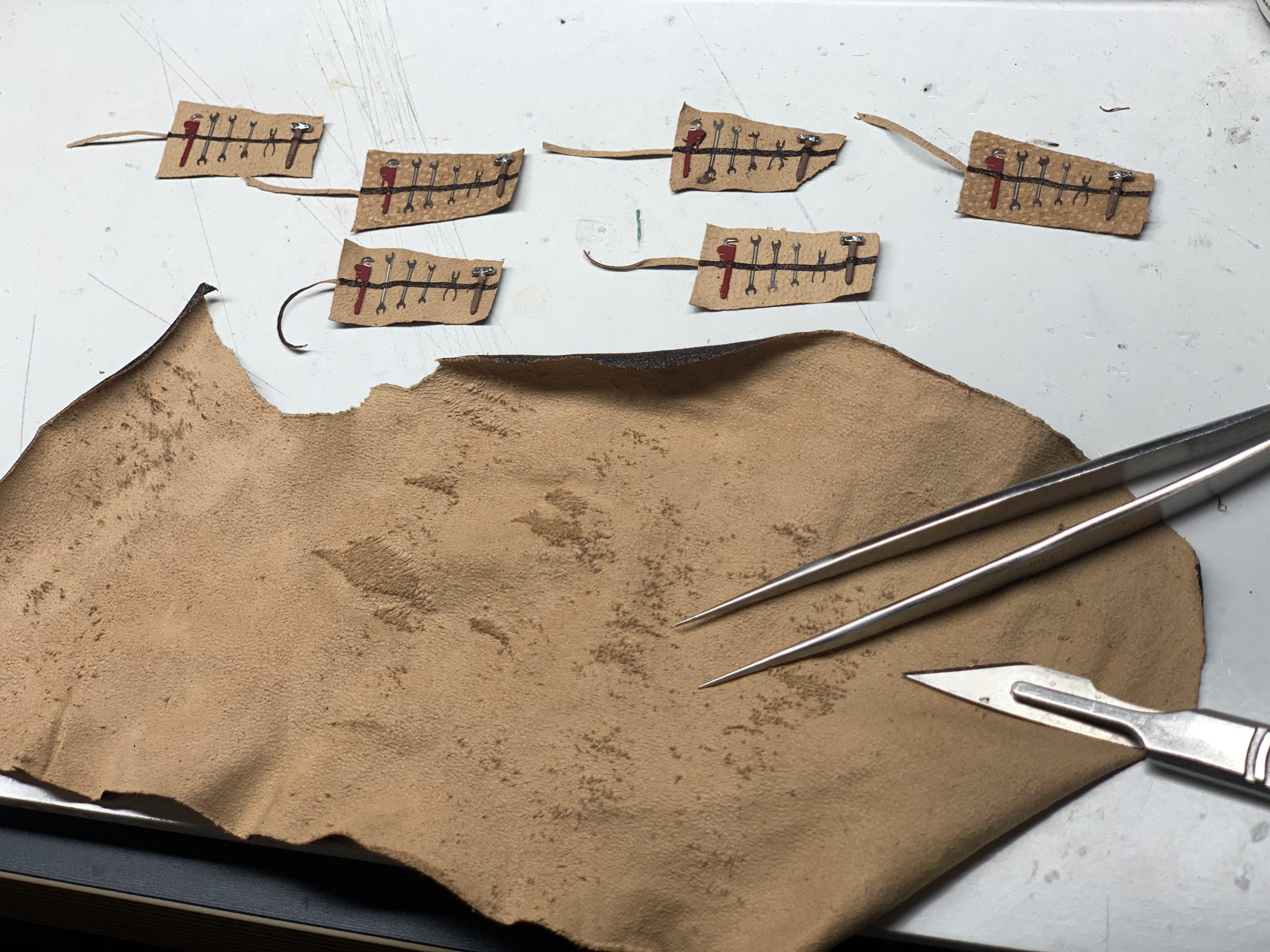Ramon Cubiro miniatures mini tool kit sets