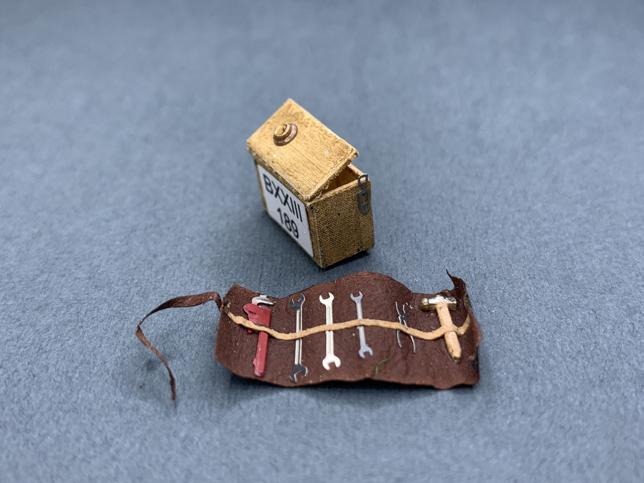 Ramon Cubiro miniatures mini tool kits