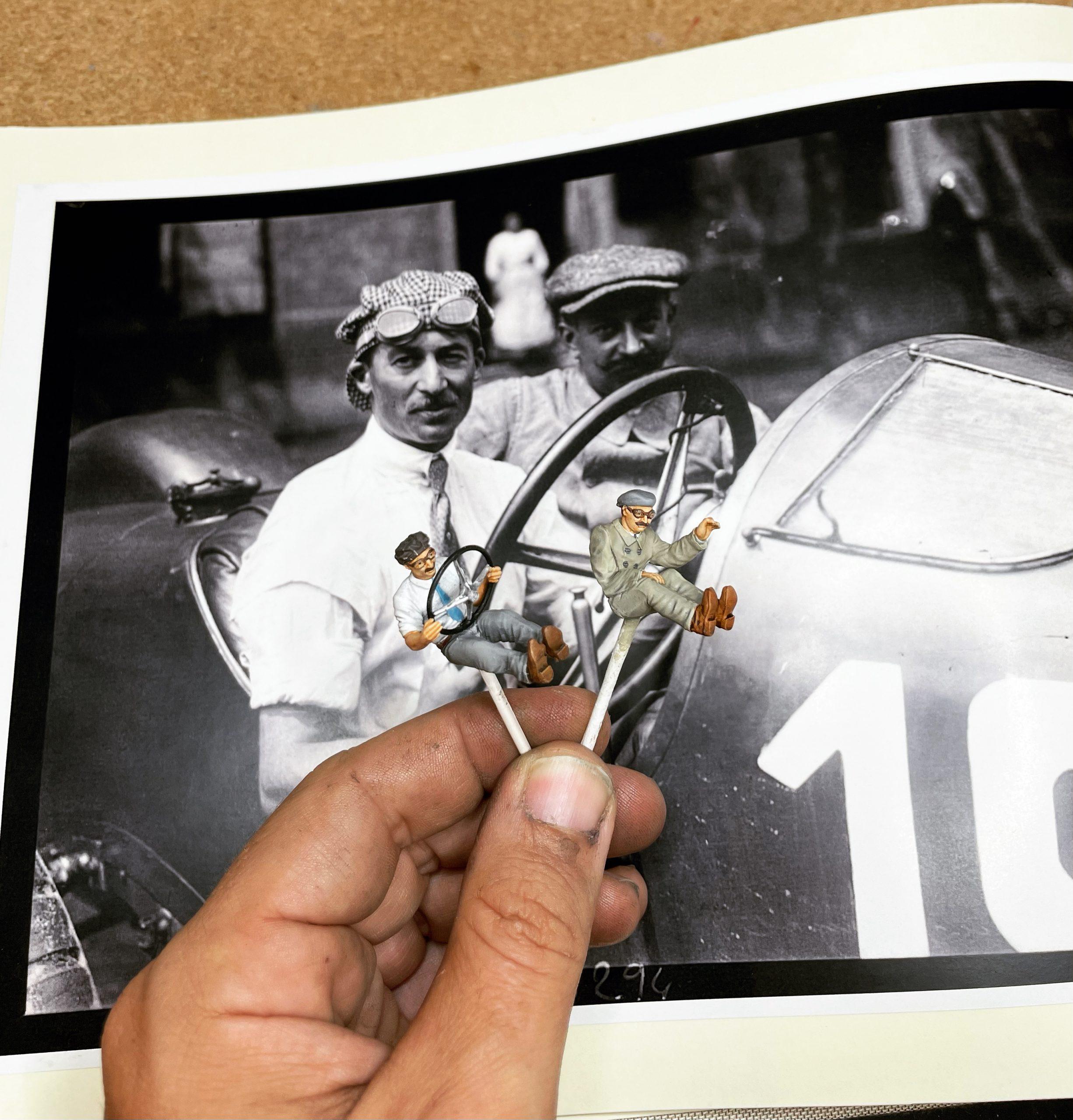 Ramon Cubiro miniatures drivers and inspiration photo