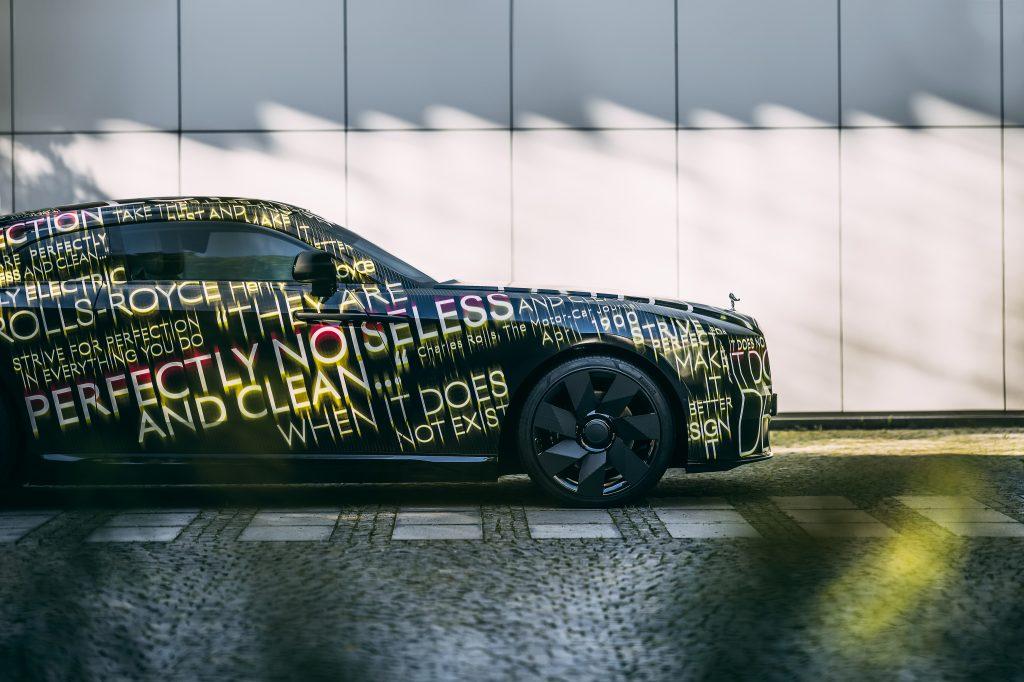 Rolls-Royce Spectre first EV