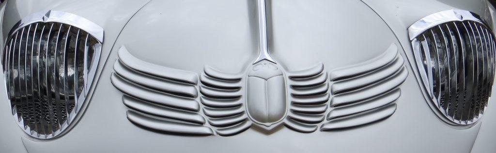 1930s Stout Scarab front closeup