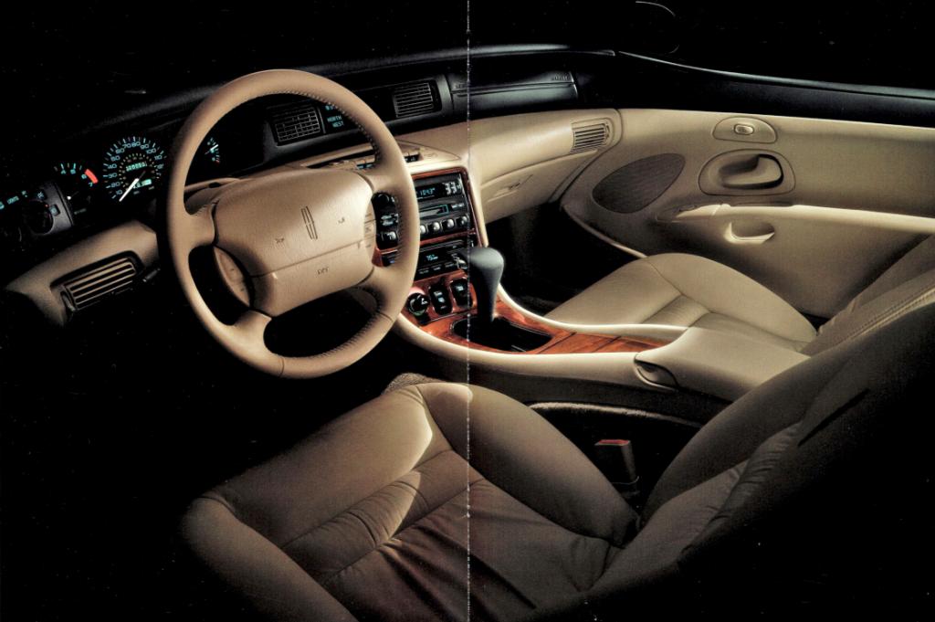 1995 Lincoln Mark VIII interior