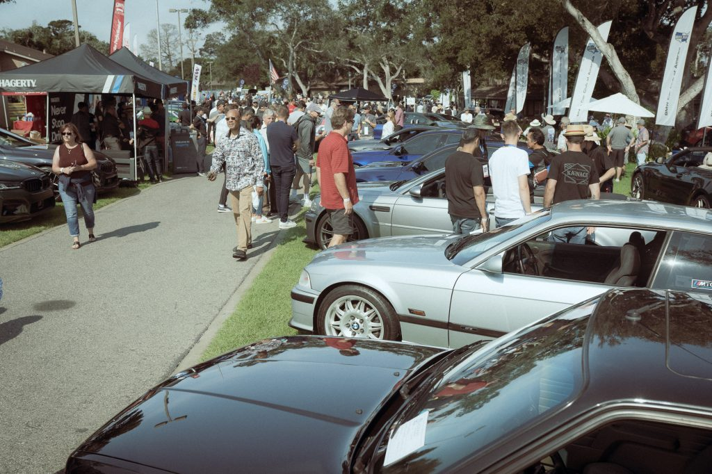 BMW 2002 monterey bmw car show