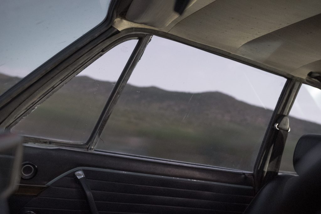 BMW 2002 window interior driving