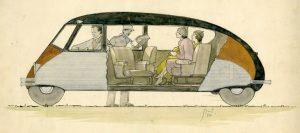 Stout Scarab interior drawing 1932
