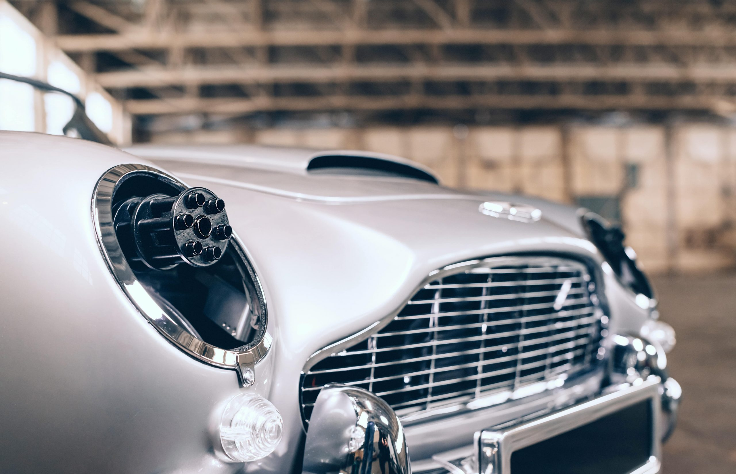 The Little Car Company No Time To Die DB5 guns