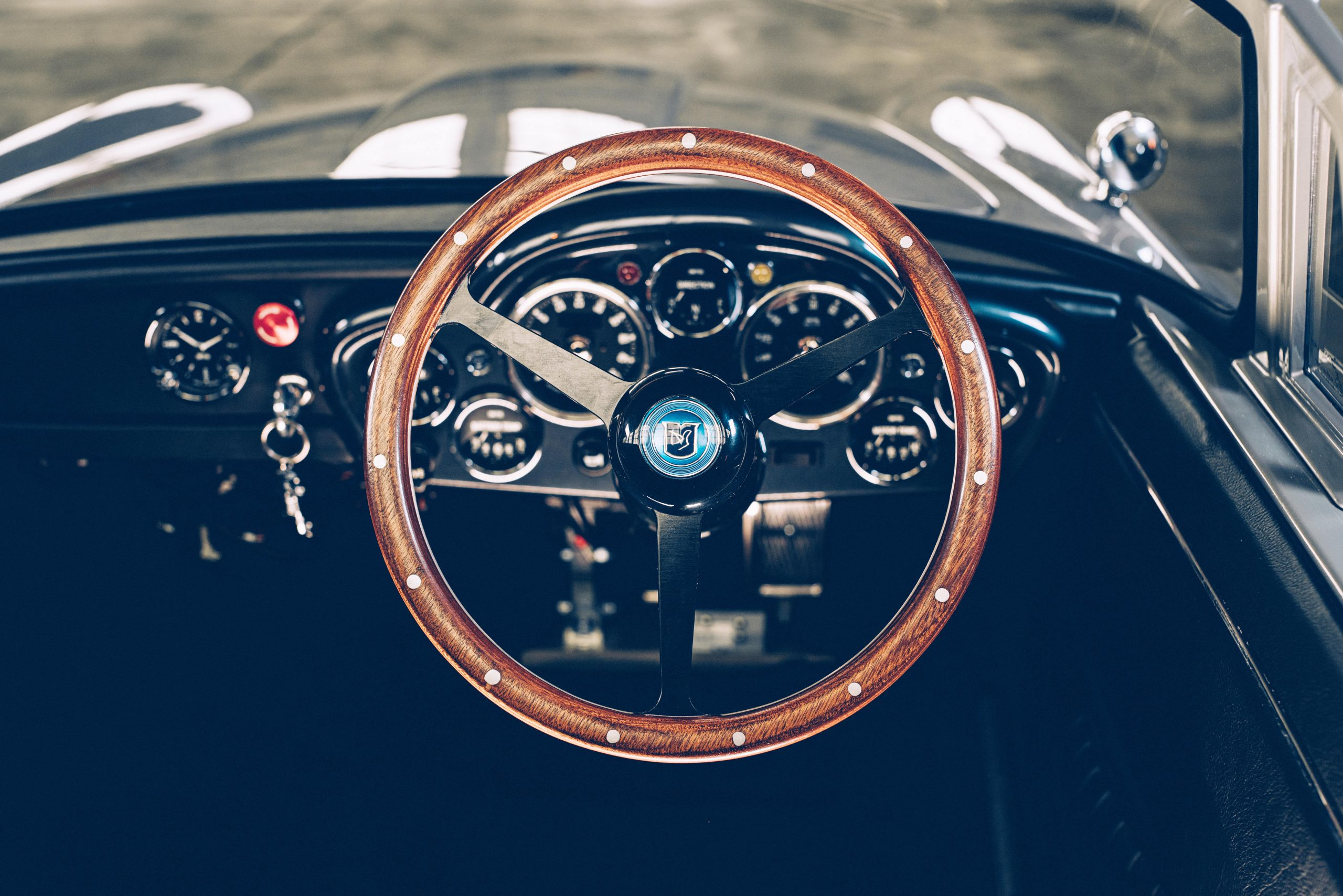 The Little Car Company No Time To Die DB5 interior