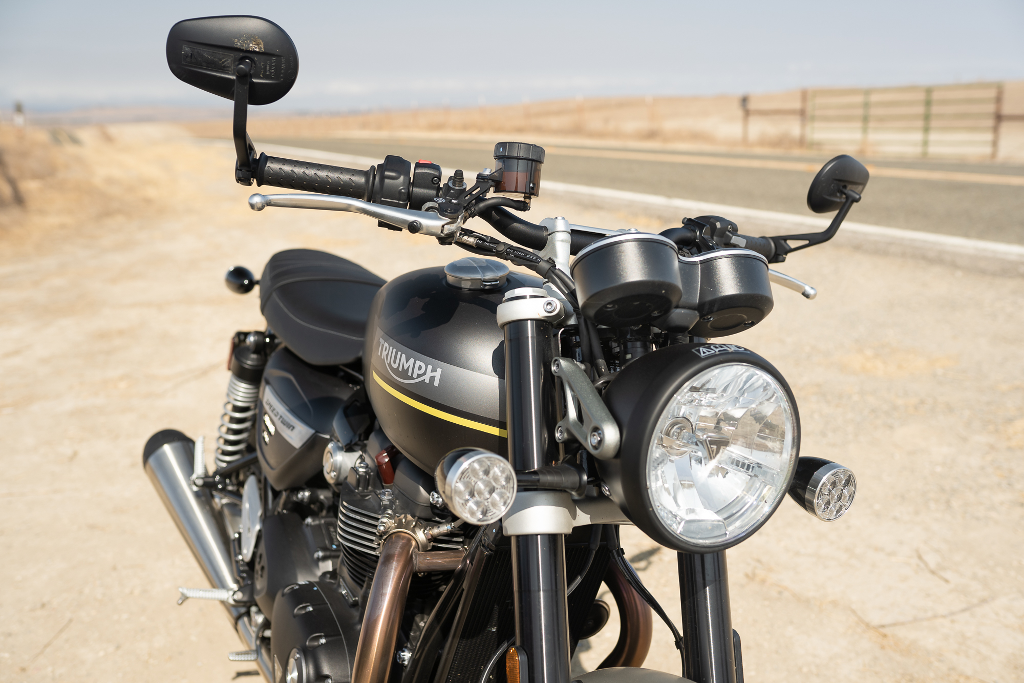Triumph Speed Twin front close