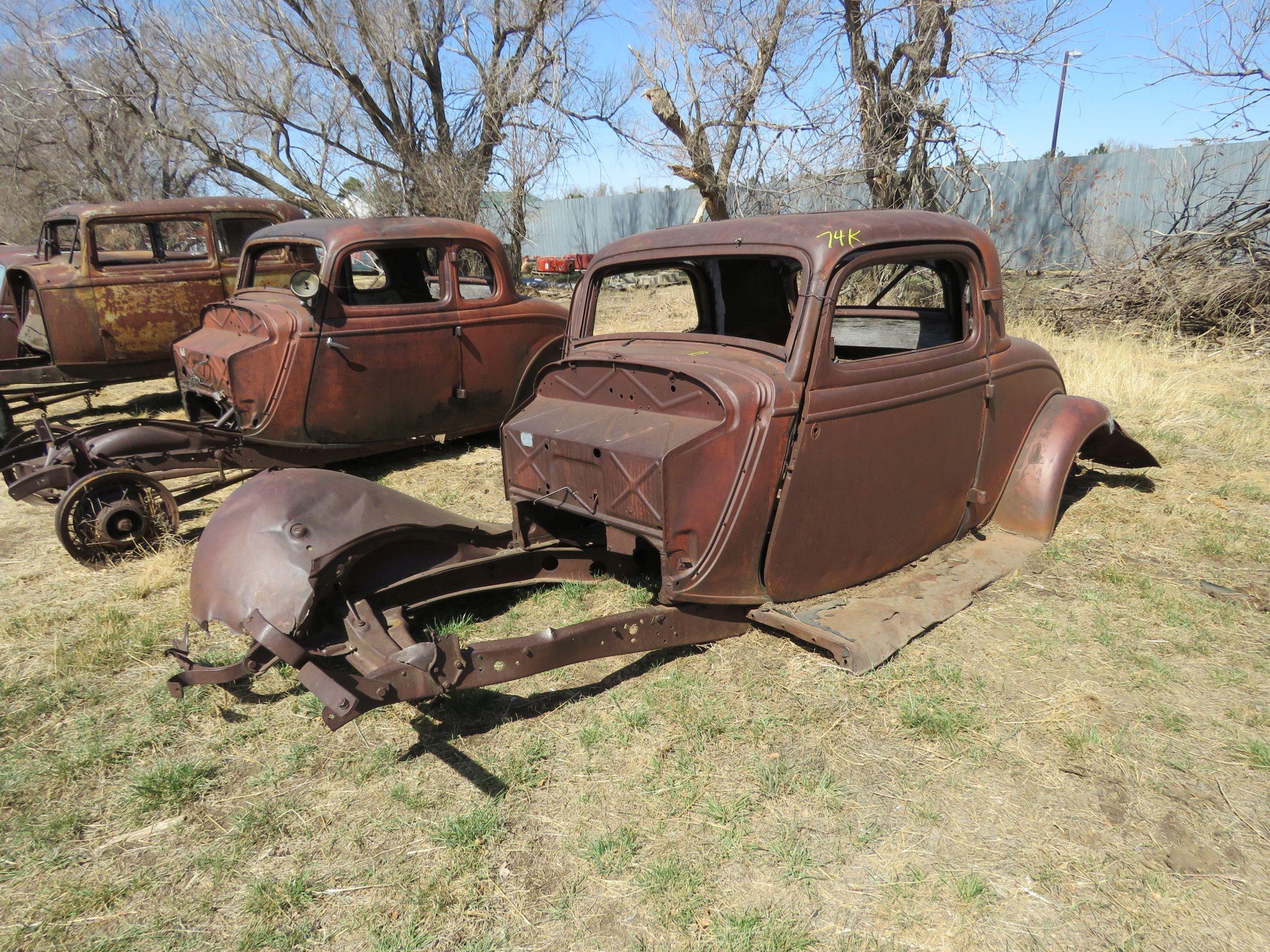 Vanderbrink - Krinke Collection - 1933 Ford project