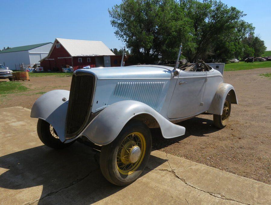 Vanderbrink - Krinke Collection - 1934 Ford Roadster