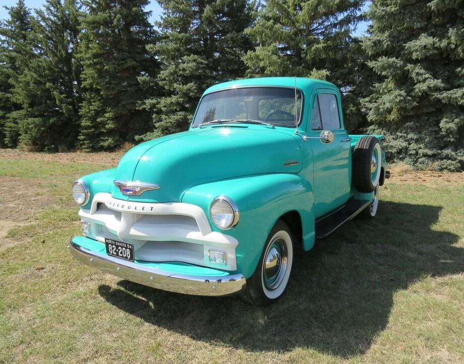 Vanderbrink - Krinke Collection - 1954 Chevrolet Series 3100 pickup