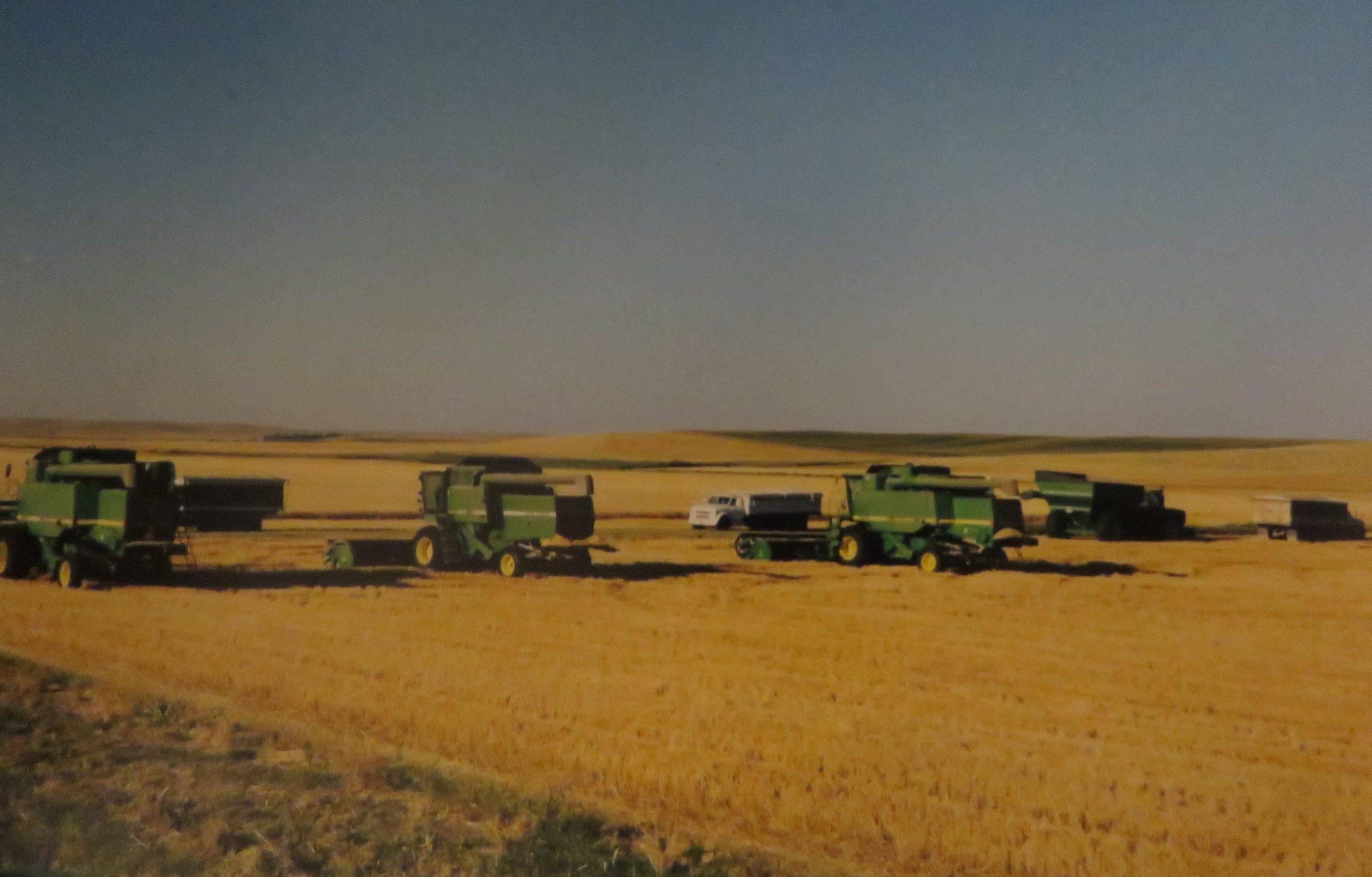 Vanderbrink - Krinke Collection - Farm equipment in the pasture
