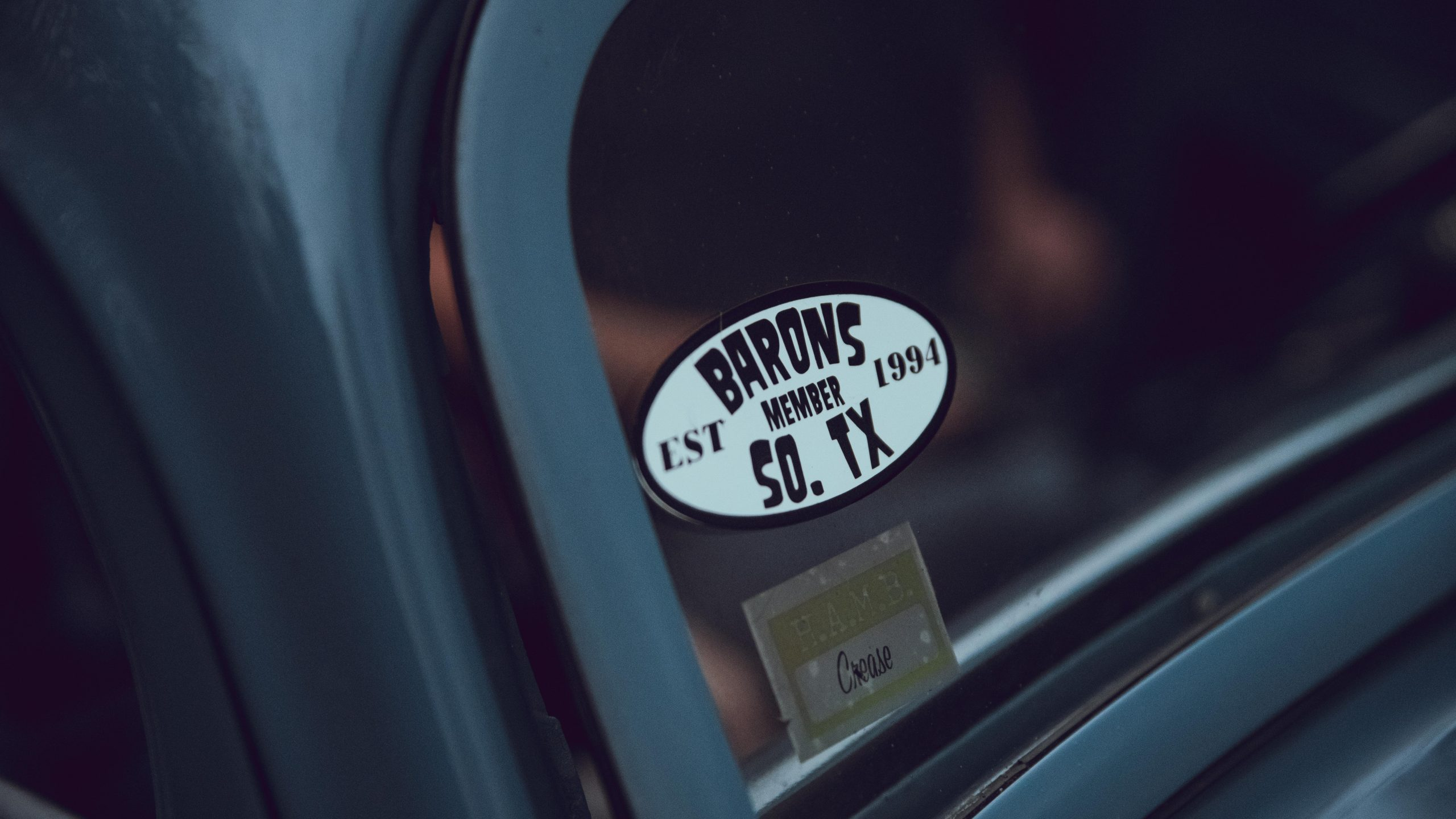 1933 Ford Coupe sticker detail