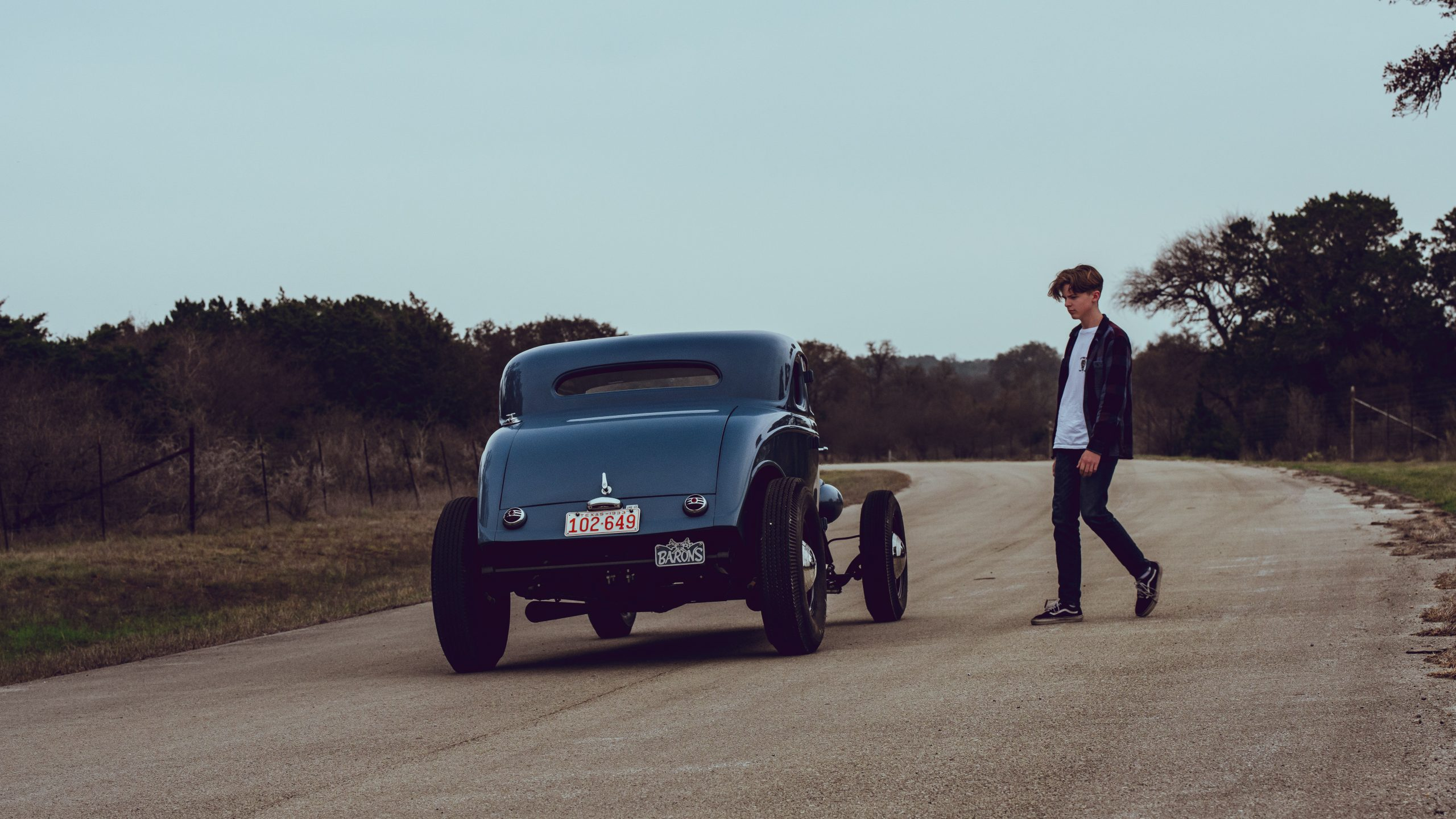 Chris and Dean Niederkrom's 1933 Ford Coupe
