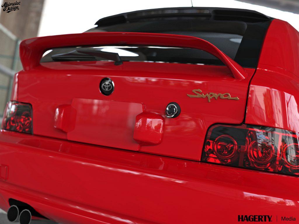 Toyota Supra BMW Z rear