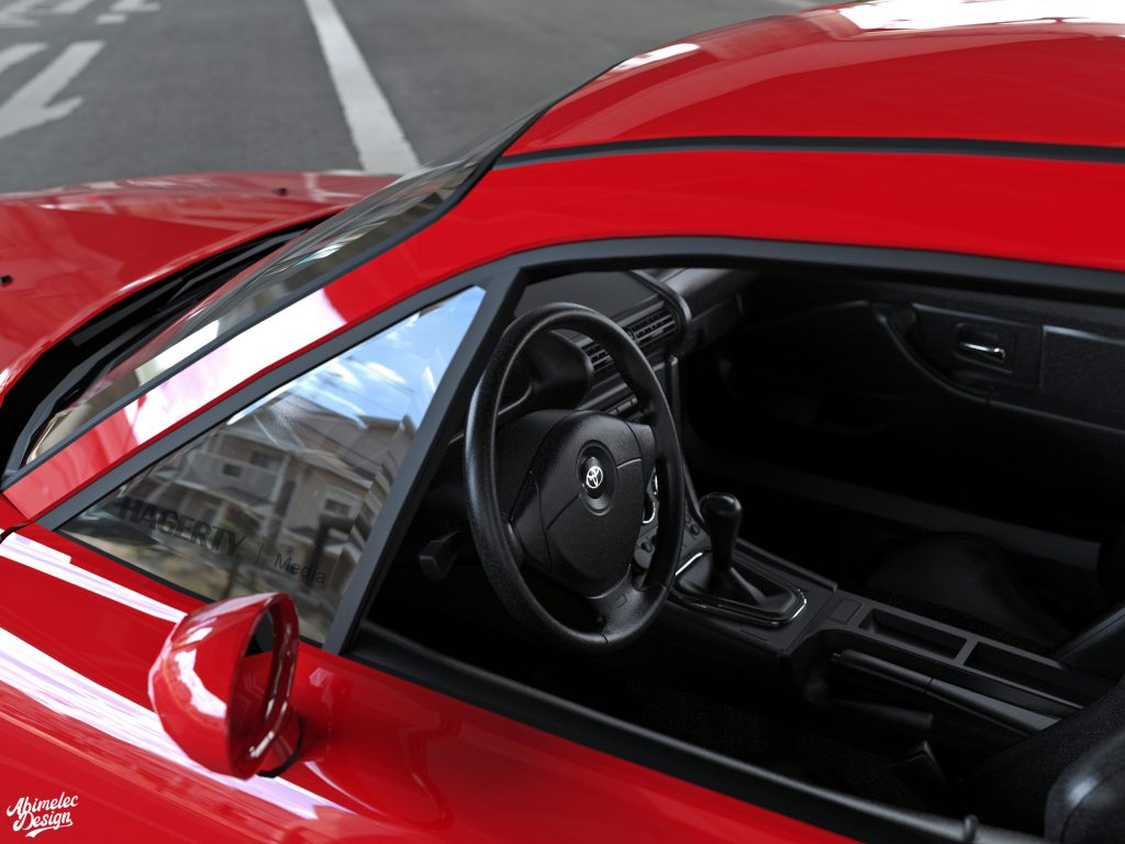 Toyota Supra BMW Z interior