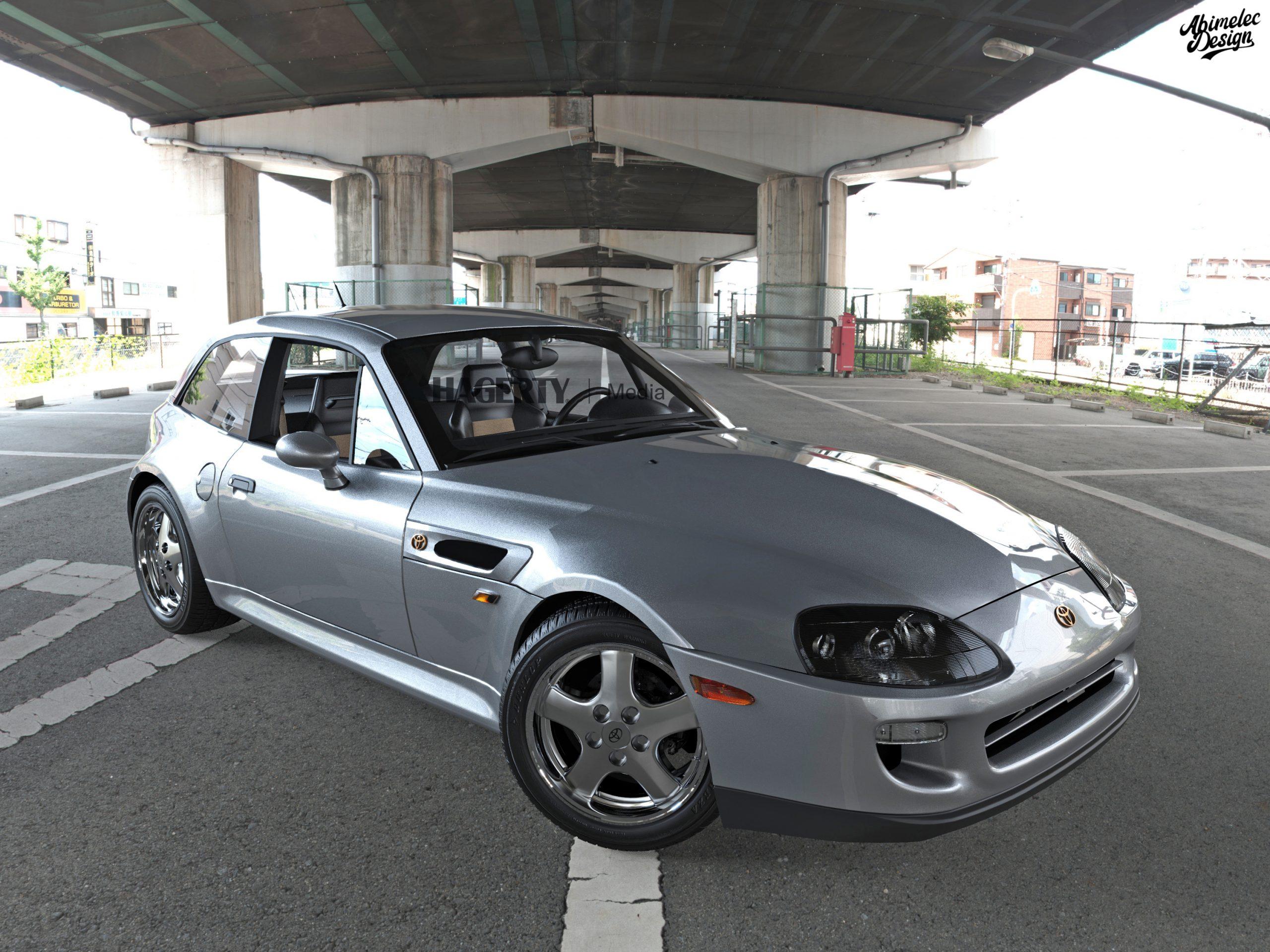 Toyota Supra BMW Z grey