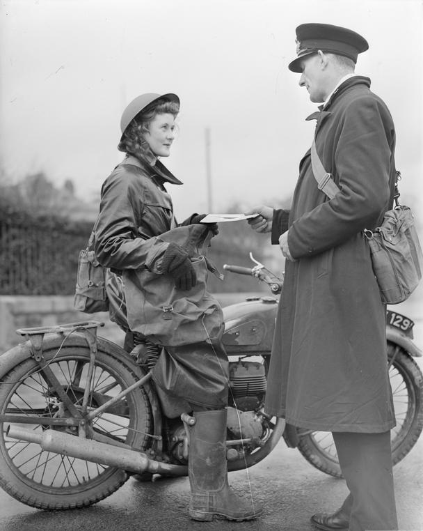 Wren Despatch Rider Correspondance