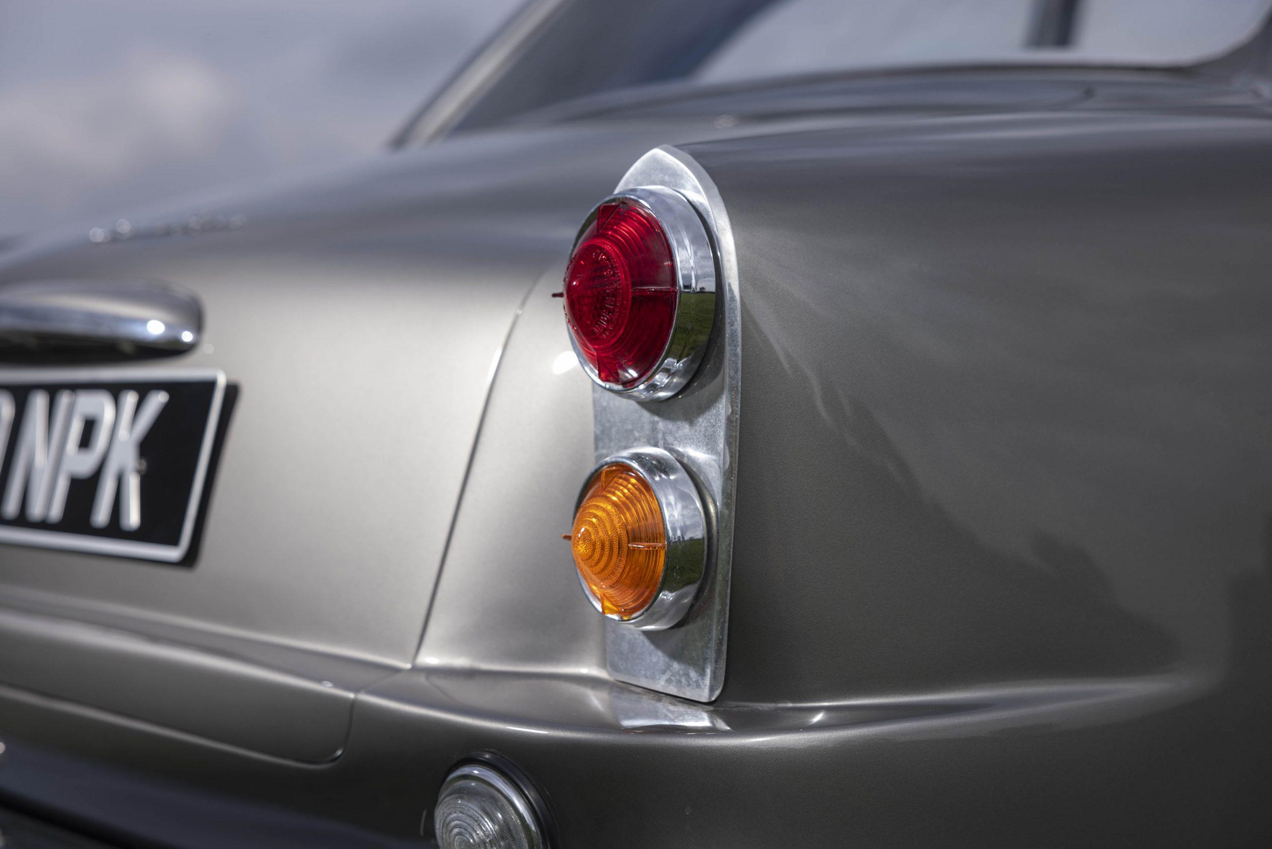 Zagato-bodied Bristol 406 taillight detail