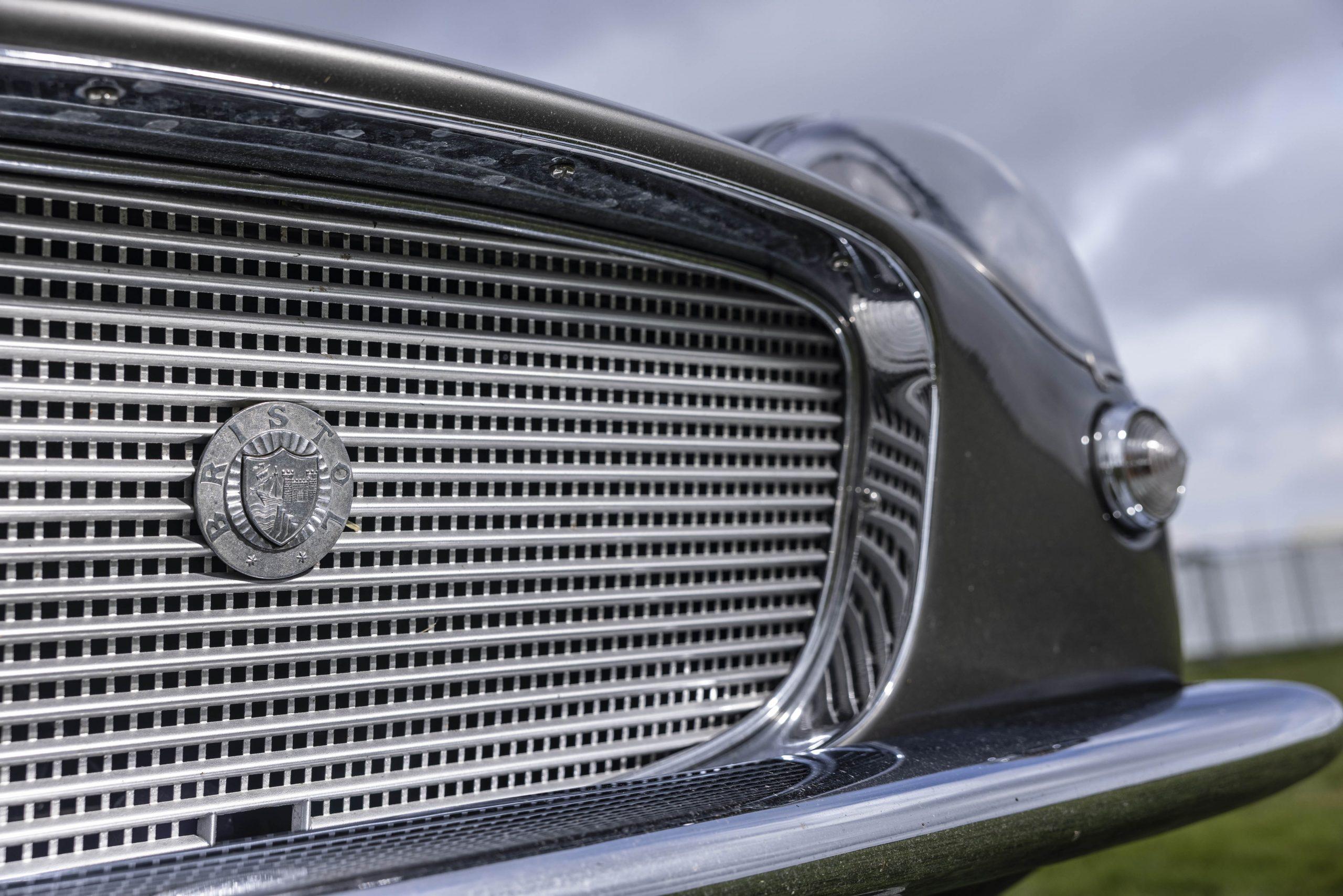 Zagato-bodied Bristol 406 grille