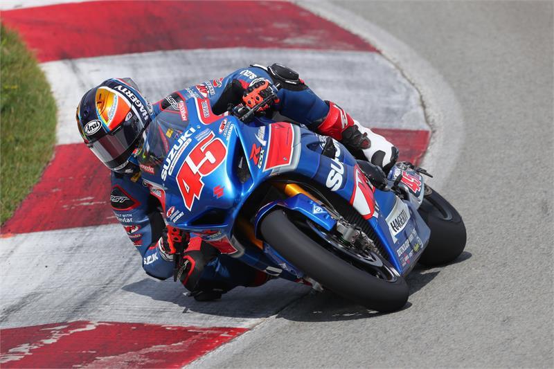 Falling off the bike can't stop Cam Petersen from scoring an epic MotoAmerica win