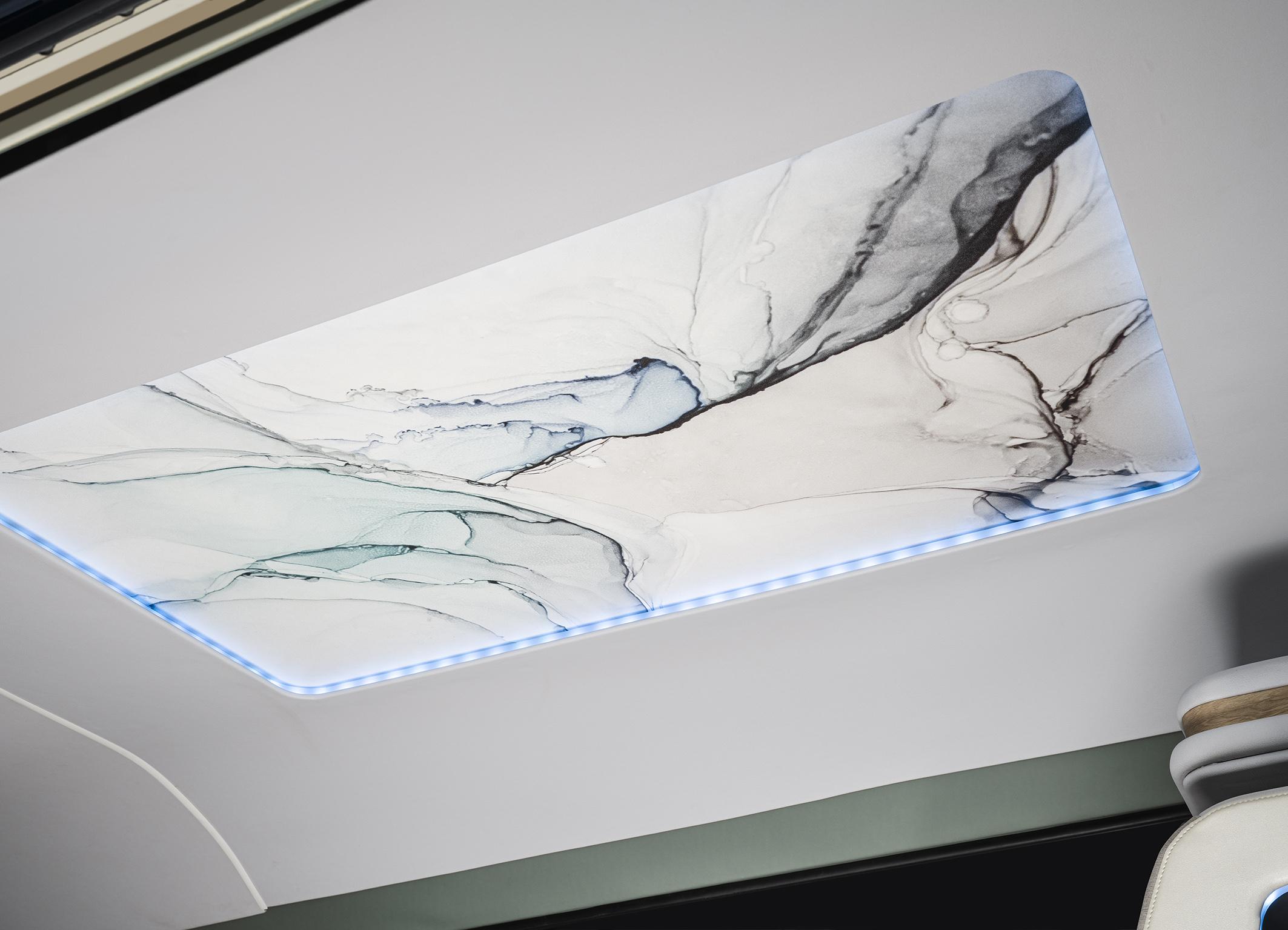 Continental ambience interior lighting