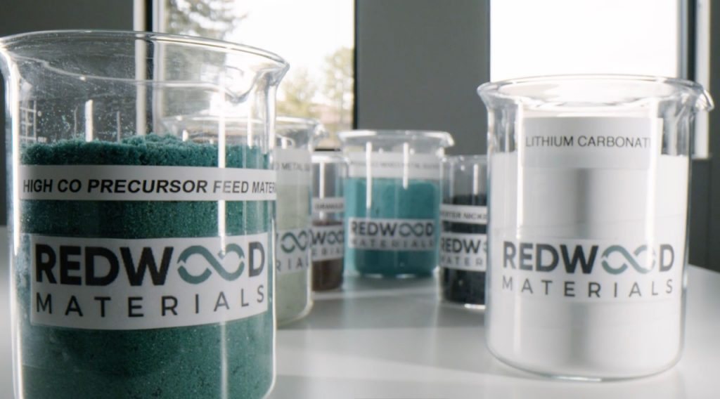 Ford and Redwood Materials partnership battery materials