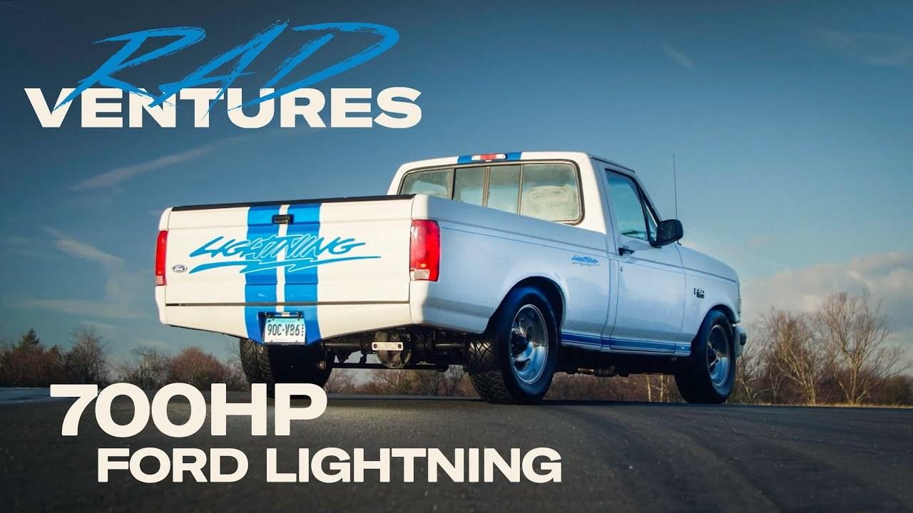Ford F150 Lightning radventures show