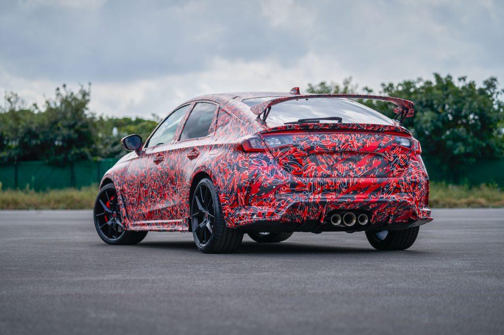 2023 Honda Civic Type R Camo teaser
