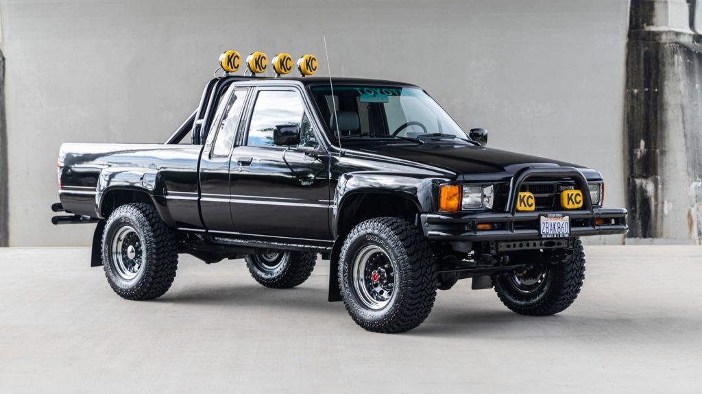 Back to the Future replica Tacoma truck