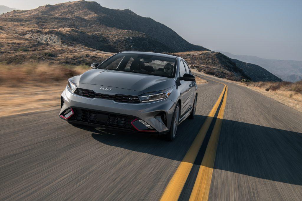 2022 Kia Forte face lift