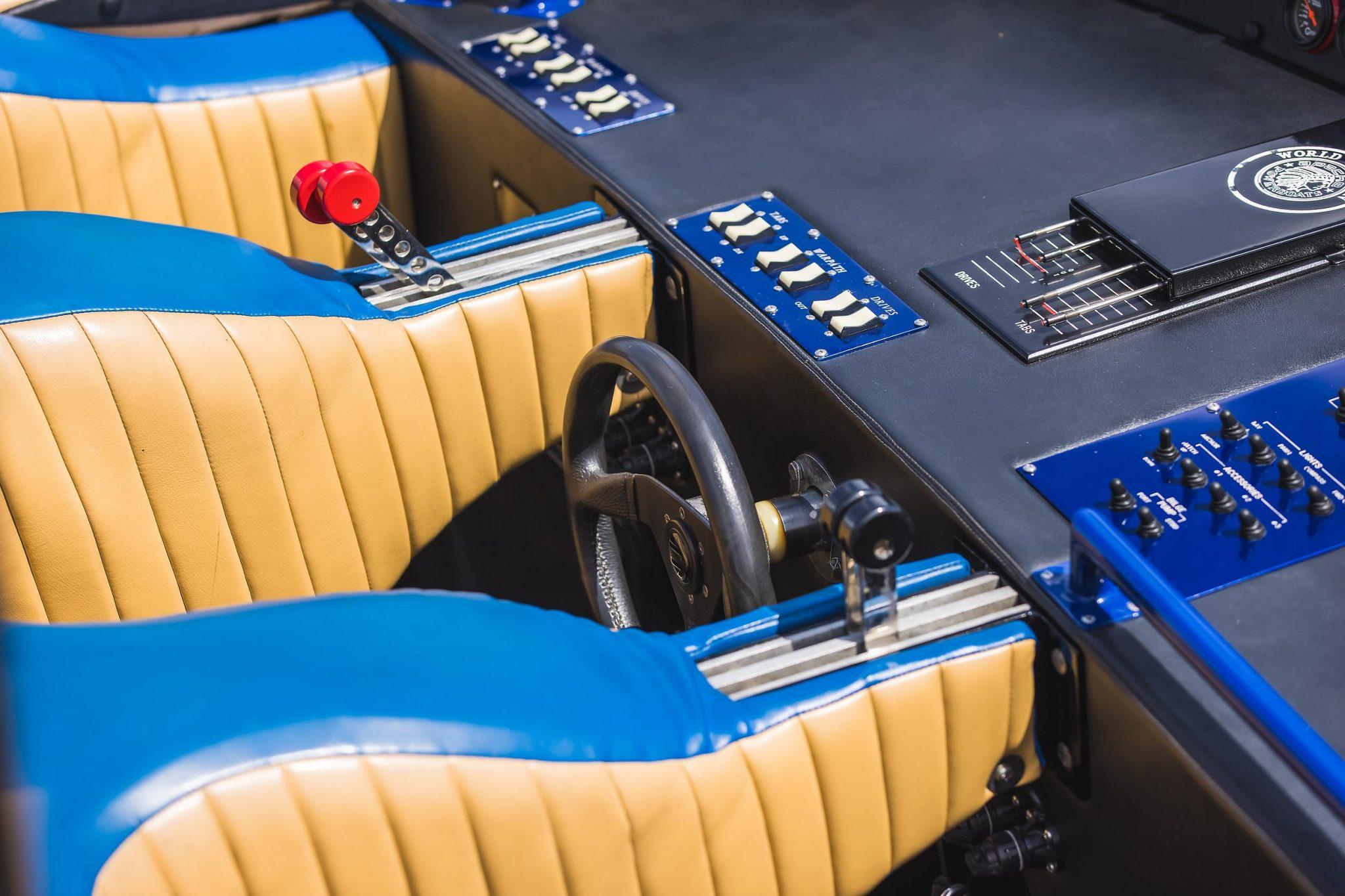 1984 Apache Offshore Powerboat Warpath steering wheel